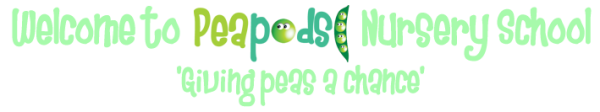 Peapods Nursery School Logo